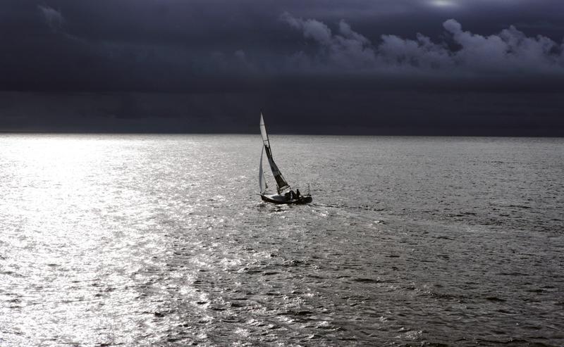 Яхта Дочь Ветра Виктора Языкова