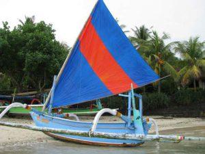 Прау с о. Бали